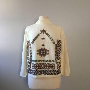 70's vintage knit sweater